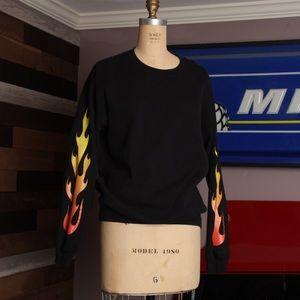GILDAN - 90s Crew Sweater